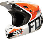 NEW 2015 FOX RACING V2 RACE MX DIRT BIKE MOTOCROSS HELMET ORANGE ALL SIZES