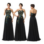 Glamorous Sweetheart Neckline Cocktail Bridesmaid Evening Prom Party Long Dress