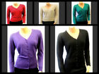 New Classic Ladies Vintage 1950's Retro style  Pin-up Cardigan Sweater