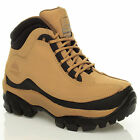 MENS LEATHER GROUNDWORK STEEL TOE CAP WORK SAFETY ANKLE BOOTS/TRAINER/SHOES 7-11