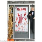 """Help Us"" Horror Scary Door Cover Party Poster Halloween Decor Decoration"