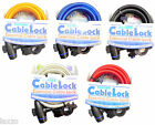Oxford Spiral Cable Lock OF247 Mountain Bike Cycle Bicycle Safety 12mm 1.8meter
