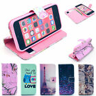 Premium Selected Images Protector Flip Leather Stand Case Cover for iPhone 5C