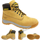 Dewalt Boots Apprentice Steel Toe Leather Work In Honey Size 5,6,7,8,9,10,11,12