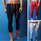 New Sexy Mens Long Johns thermal Underwears Pants 3 Colors Size M L XL # WT04