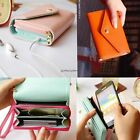 NEW LADIES CROWN PURSE CLUTCH & SMART WALLET POUCH CASE FOR IPHONE 4 4S & 5 S3 X
