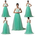 Pretty Long Lace Cocktail Evening Gowns Dress Party Prom Bridesmaid Dress STOCK