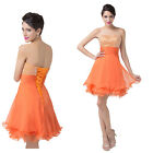 FREE SHIP Formal Party Evening Gown Dance Ball Prom Homecoming Short Mini Dress