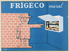 Vintage French Friegeco print poster, large 4 sizes available