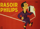 Vintage French Rasoir Philips print poster, large 4 sizes available