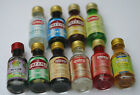 ASSORTED FOOD FLAVOURING ESSENCES 28ML CULINARY FOOD CAKES SWEETS DESSERTS