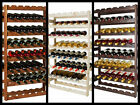 Wooden Wine Racks Cellar Shelf Storage 56 Bottles Furniture Solid Spruce Wood ®