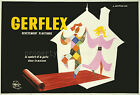 Vintage French Gerflex Ad print poster, large 4 sizes available