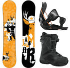 Lamar Click 158 Men's Snowboard+Flow Bindings+Flow Vega BOA Men's Boots NEW