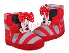 Toddler Baby Girl Red Minnie Mouse Boots Crib Shoes Size Newborn to 18 Months