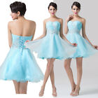 CHEAP Beaded Short Mini Pageant Dress Evening Party Homecoming Ball Gown Dresses