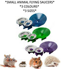 SMALL ANIMAL HAMSTER RAT FLYING SAUCER SILENT FOOT SAFE EXERCISE WHEEL 3 SIZES