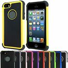 Shockproof Hard Heavy Duty Armor Shock Proof Case Cover for Apple iPhone 5S 5 SE