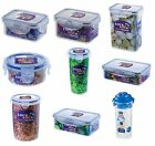 LOCK & AND LOCK Plastic Storage Containers Lunch Box Cake Sandwich Food Bottles