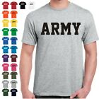 ARMY Physical Training US Military PT T Shirt  24 Color Combinations  8 Sizes