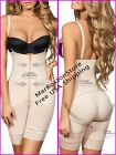 Body Shaper With Free Bust and Straight Back, Faja Reductora Nude, Moldeate 5051