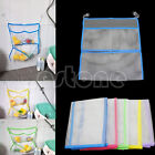 Bathroom Home Suction Net Bag Baby Kid Bath Bathtub Tidy Toy Storage Organizer