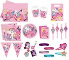 Kinder - My little Pony - Wimpel Girlande Party Ballons Deko Artikel Tischwaren