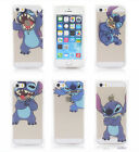 New arrival cute Stitch model soft silicon TPU phone cover case for iphone 5 5S