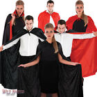 Halloween Accessories Adult Mens Ladies Vampire Cape