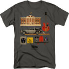 Back To The Future Items Licensed Adult Shirt S-3XL