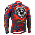 FIXGEAR_1101 mens,womens cycling jersey bike clothes skull shirts S~3XL