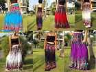Long Skirt-Gypsy - Maxi -Boho-Summer-Lightweight-Floral