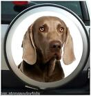 WEIMARANER SPARE WHEEL COVER STICKER 4X4 (CHOICE OF SIZES)