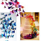 3D Butterfly Sticker Art Design Decal Wall Stickers Home Decor Room Black Friday