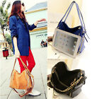 Fashion Girl's Handbag Faux Leather Satchel Shoulder Bag Tote Hobo Messenger