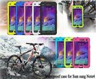 Shockproof Waterproof Case Hard Cover For galaxy Note 4 IV N9100 5.7""