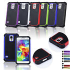 Accessories For Samsung Galaxy S5 Shock Proof Case Cover Free Screen Protector