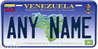 Venezuela Any Name Personalized Novelty Car Auto Tag License Plate B01