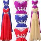 ❤Elegant❤Long Maxi Chiffon Evening Homecoming Gown Party Prom Bridesmaid Dresses