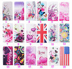 Luxury Cute Slim New Multicolour Printed  PU Leather Cover Case For Phone