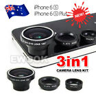 OZ Camera Lens Kit For Apple iPhone 6 6 Plus Fish Eye+Wide Angle+Macro 3in1