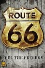 New The Historic Route 66 Roadsign Route 66 Poster