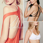 Women Cut Out Sexy Party Bra Vest Tank Bralet Crop Top Sleeveless Blouse Shirt