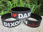 The Walking Dead I Love Daryl Dixon Silicone 2 Colours Wristband Bracelet