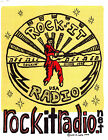 Rock-it Radio T Shirt -- Original Design  #07 Rock-it Radio Red Suit Logo