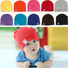 NewBorn Cute Baby Boy Girl Unisex Kid Cotton Beanie Hat Soft Toddler Infant Cap