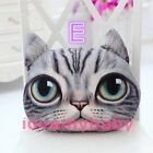 HOT Cute Soft Stuffed Plush 3D Cat Face Throw Pillow Decor Cushion Toy Doll