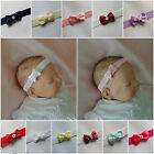 Bow Baby Headbands Hairband Soft Elastic Hair Accessories  all sizes dainty bow