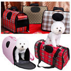 Pet Dog Cat Puppy Portable Travel Carry Carrier Tote Cage Bag Crates Kennel UK