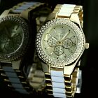 FW929B New Gold Tone Dial Water Resist Ladies Women ALEXIS Brand Fashion Watch